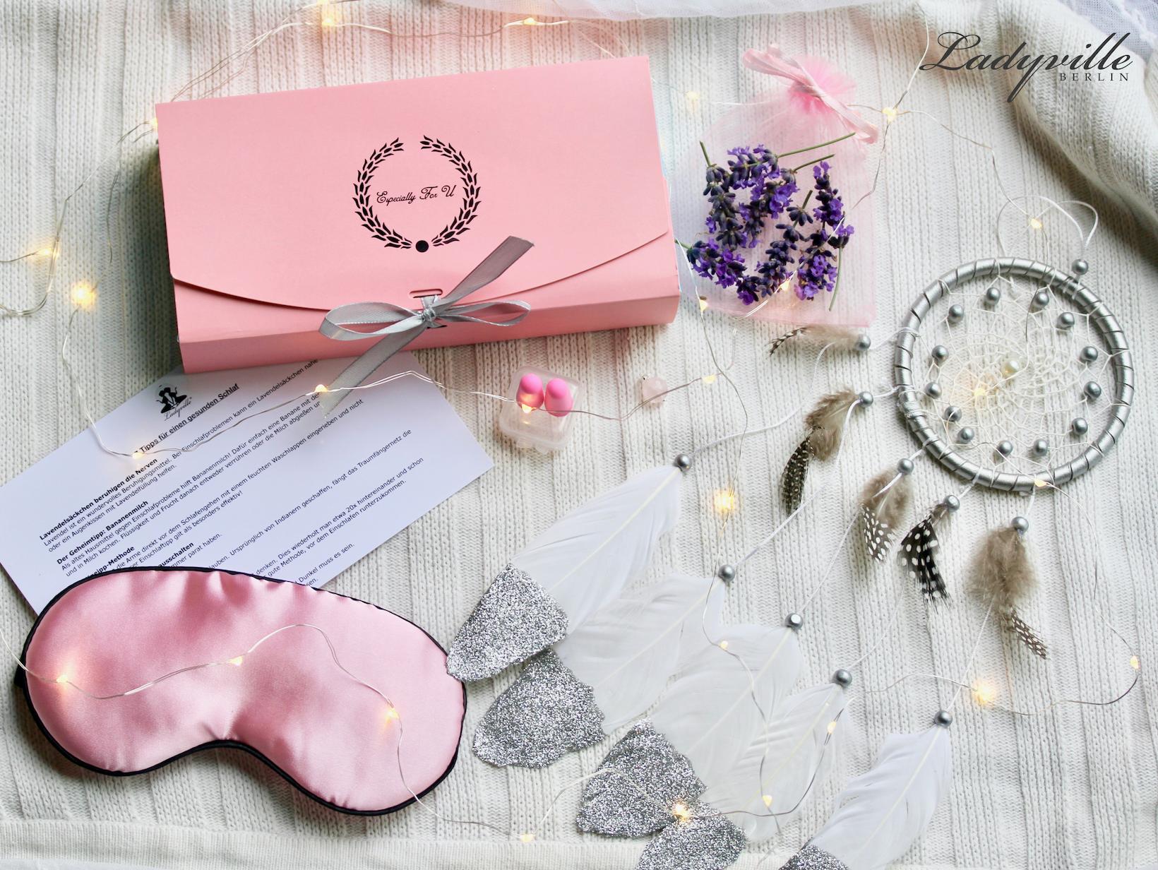 Ladyville Geschenkbox Dream Box Sleep Box Geschenk Für