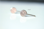 Ohrstecker Lollipop - 925 Sterling Silber