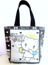 "Original ""Tenshi Neko"" Shopper - Hearts"